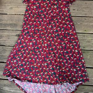 LuLaRoe Dresses - LuluRoe Dress SUPER FUN PATTERN size XS ❤️❤️